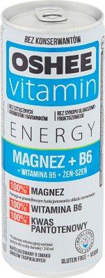 OSHEE Vitamin Energy magnez