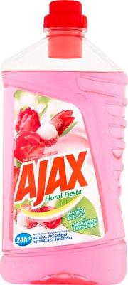Ajax Floral Fiesta płyn uniwersalny do wszystkich powierzchni Tulipan i Liczi