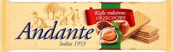 plaquettes couches de crème au goût de noisettes Familijne