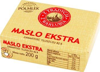 Masło Extra Tradycyjne z Warlubia