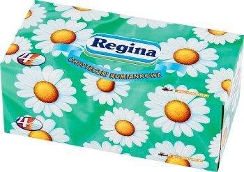 Regina Chusteczki kosmetyczne rumiankowe 4 warstwy