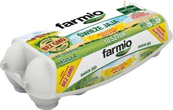 Farmio jaja wolne od GMO rozmiar M, z chowu klatkowego