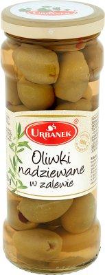 Urbanek oliwki nadziewane w zalewie 300 g