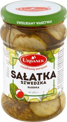 Urbanek Sałatka szwedzka 260 g słodka