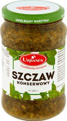 Urbanek szczaw konserwowy 350 g