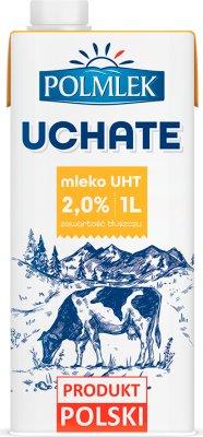 Warmia Uchate mleko 2% tłuszczu UHT