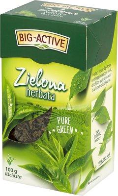 порох зеленого чайного листа