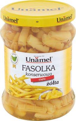 Unamel fasolka konserwowa żółta cięta