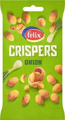 Felix Crispers Onion orzeszki ziemne w chrupkiej skorupce o smaku cebulowym