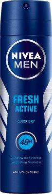 Nivea For Men Fresh Active dezodorant męski w spray'u