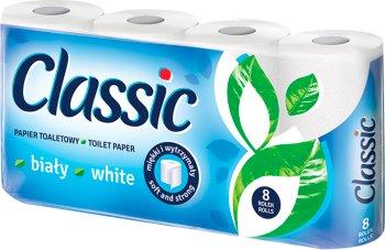 Velvet Classic papier toaletowy  klasycznie biały