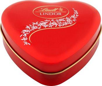 Lindt Lindor Pralinki z czekolady mlecznej z nadzieniem