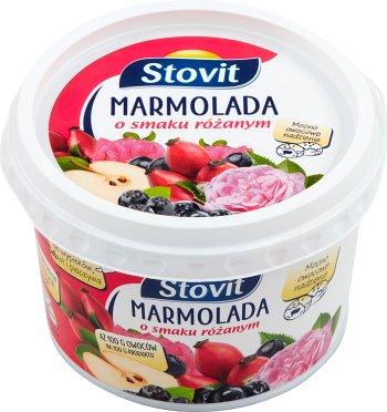 Stovit marmolada z owoców mieszanych o smaku różanym miękka