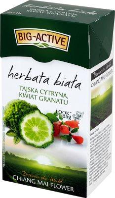 Big-Active herbata biała ekspresowa tajska cytryna i kwiat granatu