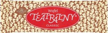 Kopernik wafel teatralny classic -  orzechowy w czekoladzie
