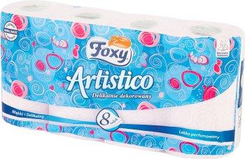 Artistico розовый туалетная бумага