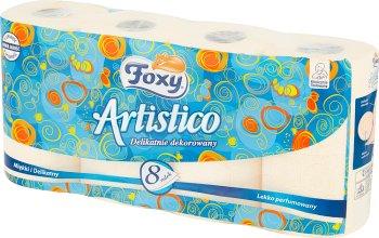 Artistico оранжевый туалетная бумага