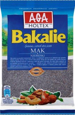 Aga Holtex Bakalie Mak niebieski