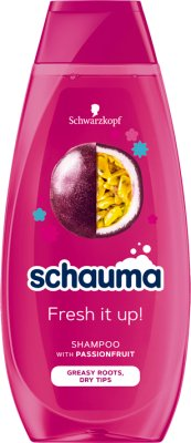 Schwarzkopf Schauma Fresh it Up! szampon z mleczkiem z kwiatów Passiflory