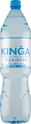 Kinga Pienińska naturalna niskosodowa woda mineralna niegazowana