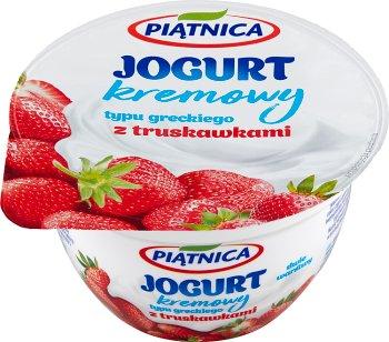 Piątnica jogurt typu greckiego z truskawkami