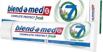 Blend-a-med Complete 7 pasta do żebów Mouthwash Herbal