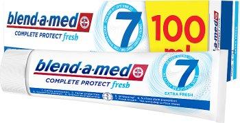 полный 7 Зубная паста Жидкость для полоскания рта Экстра Свежий