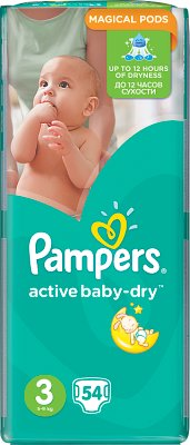 Pampers pieluchy Active Baby dry 3 midi, 4-9 kg