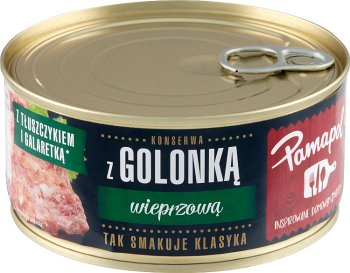 Pamapol konserwy mięsne golonka wieprzowa