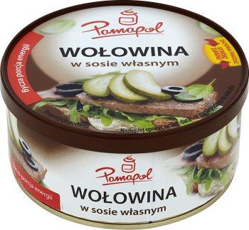 Pamapol konserwy mięsne wołowina w sosie własnym