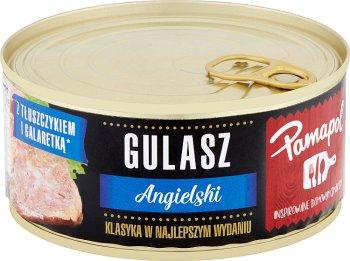Pamapol konserwy mięsne gulasz angielski