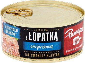 Pamapol konserwy mięsne łopatka wieprzowa