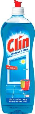 Clin płyn do mycia okien z alkoholem