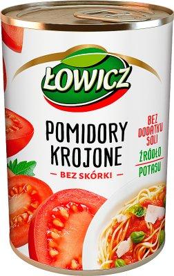 Łowicz pomidory w puszce  krojone