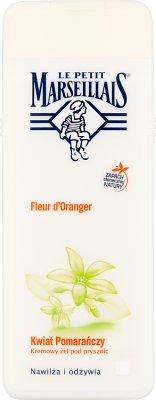 Le Petit Marseillais kremowy żel pod prysznic Kwiat Pomarańczy