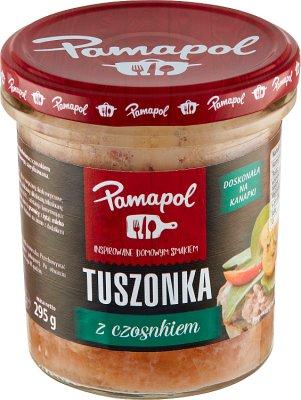 Pamapol Tuszonka + czosnek
