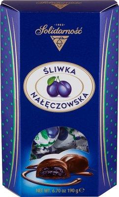 Solidarité Nałęcznowska Plum dans le chocolat