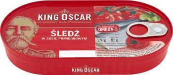 King Oscar Śledź w sosie pomidorowym