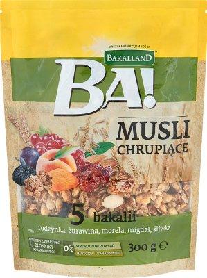 Bakalland Musli chrupiące 5 bakalii