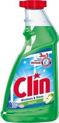 Clin płyn do czyszczenia okien z alkoholem Jabłko zapas