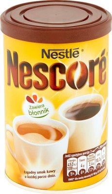 Nestle Nescore Kawa rozpuszczalna z oligofruktozą i cykorią