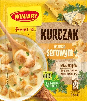 Winiary Pomysł na... Kurczaka w sosie serowym