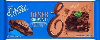 E. Wedel Czekolada mleczna o smaku brownie