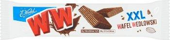E. Wedel CzekoWafel XXL Wafel z kremem orzechowym w oryginalnej wedlowskiej czekoladzie