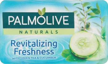 Palmolive Naturals Zielona herbata i Ogórek Mydło toaletowe 90 g