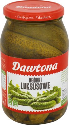 Dawtona luxury canned cucumbers