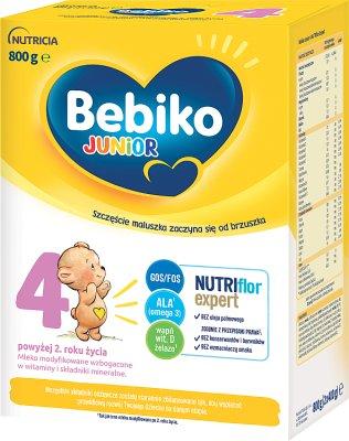 Bebiko Junior 4 Mleko modyfikowane dla dzieci