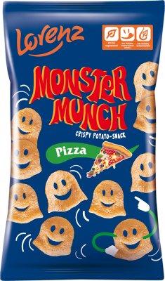 Monster Munch patatas fritas, pizza de patata con sabor a 50 g