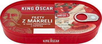 King Oscar szproty w sosie pomidorowym
