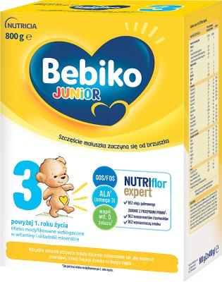 Bebiko Junior 3 Mleko modyfikowane dla dzieci
